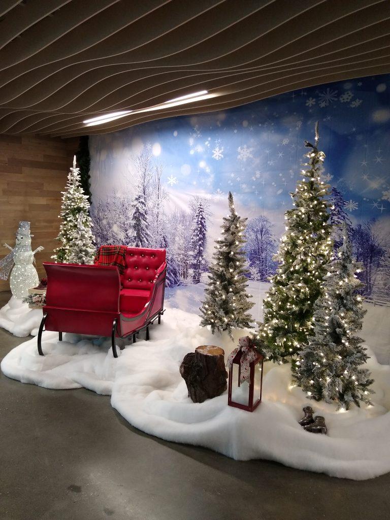Holiday Decor Background Image